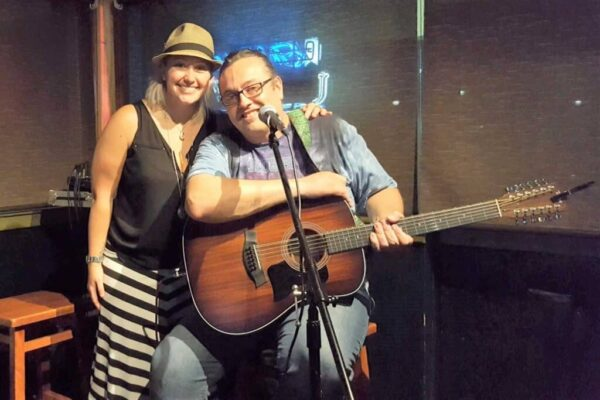 Eve n' Paparo at The Thirsty Turtle