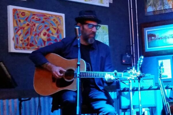 Mark Telesca at the Brewhouse Gallery