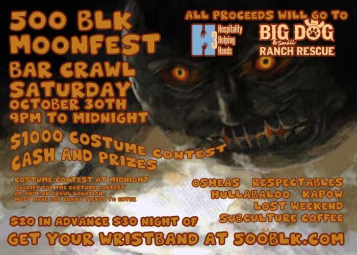 MoonFest Bar Crawl!
