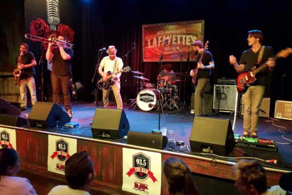 Spred the Dub at Lafayette's