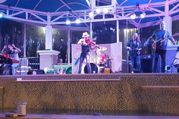 The Wildfire Band at Harbourside