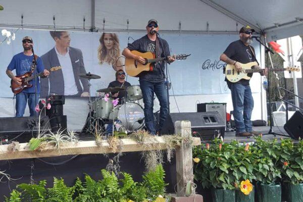 Tom Jackson Band at ArtiGras